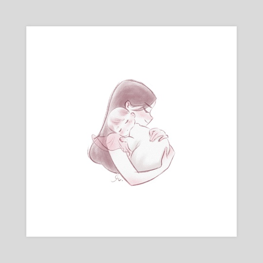 Mom Icon 1 by Richelle Canto