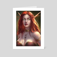 Ambition - Art Card by Tatiana Hordiienko