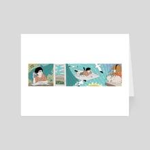 Nel blu dipinto di blu - Art Card by Sam_Artworks