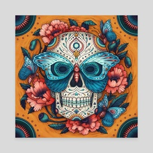 Day of the Dead 2 - Canvas by Kate O'Hara