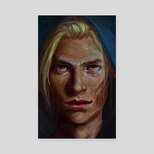 Black Shadow - Canvas by Nat Martin