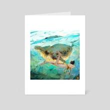 Splorin' - Art Card by Daisy Williams
