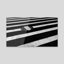 Crosswalk, New York City (2020-3-GNY-79) - Acrylic by Vlad Meytin