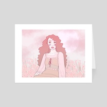 Field babe - Art Card by danielle morgan
