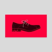Shoe - Canvas by Sébastien Thibault