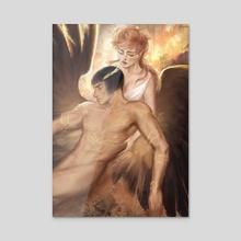 Guardian Angel - Acrylic by meginatoris