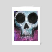 Little Skull - Art Card by Caitlin Rose