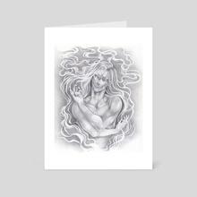 Aura - Art Card by Caeles