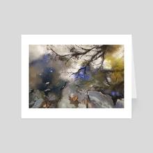 Sky Reflected - Art Card by Allison Gloe