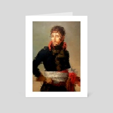 Napoleon bonaparte - Art Card by Three of the Possessed