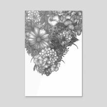 Stalactite - Acrylic by Courtney Archer