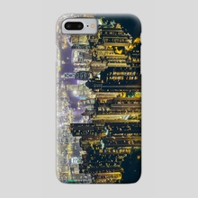 Hong Kong by night - Phone Case by Giel Sweertvaegher
