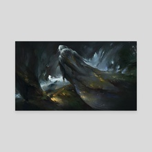 Mistweaver - Canvas by Alexandra Roslik