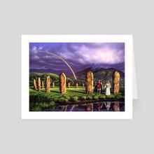 Stones of Years - Art Card by Jerry LoFaro