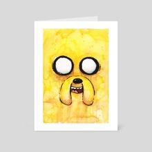 Jake - Art Card by Olga Shvartsur