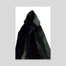 Dark Wizard - Canvas by Guy Parkhomenko