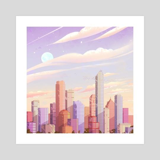 City - Pink by Brittnie
