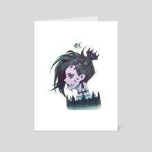 Alix - Saren Spine - Art Card by Paul Kwon