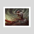 Locusti Priest - Art Print by Shreya Shetty