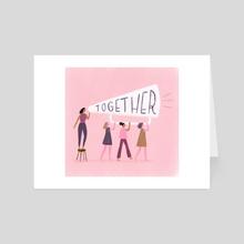 Amplify - Art Card by Aura Lewis
