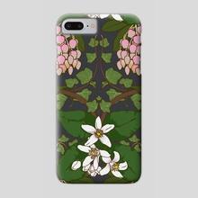 Winter Flowers - Phone Case by Feroniae