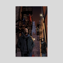 The Defenders - Canvas by Tom Furber