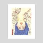 polillas - Art Print by Annelisa Hermosilla