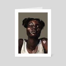 BEAUTY - Art Card by A. Juwe
