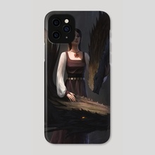 Dragon Lady - Phone Case by Thomas Wievegg