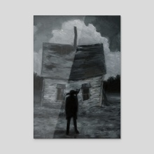 The Home - Acrylic by Dillon Samuelson