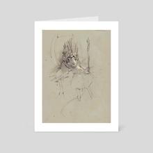 Rat King - Art Card by Bobby Rebholz