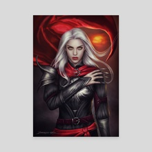 The Witch - Canvas by Dominique Wesson