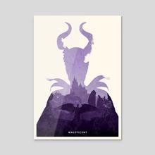 Maleficent - Acrylic by Ryan Ripley