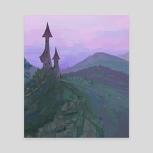 Castle - Canvas by Manon Verrey