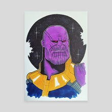 Thanos - Canvas by Nilla Skaalu