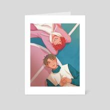 Pastel Court - Art Card by Miintee