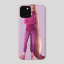 rapunzel - Phone Case by maxy artwork