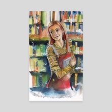 Willow - Canvas by Bell4trixx Illustration