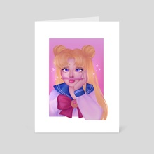 Sailor Moon - Daydream - Art Card by Nour