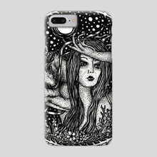 Taurus, the Bull - Phone Case by Jacque Tiongco