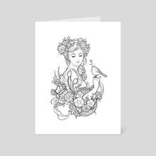 Printemps - Art Card by Maret Brotkrumen