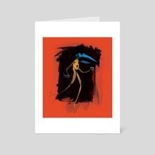 Crow-A - Art Card by Aaron McKinney