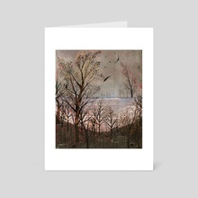 Autumn Scene - Art Card by Sarah Jacoby