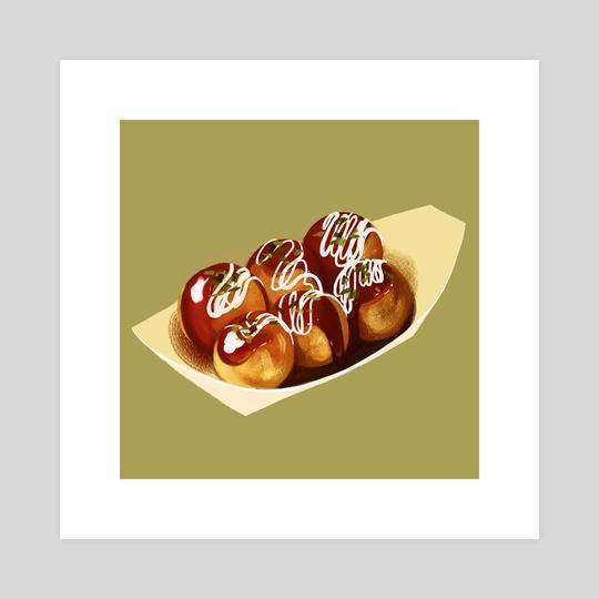 Takoyaki by Michelle Dao