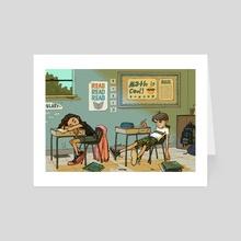 Fifth Grade - Art Card by Rosalie Mattair
