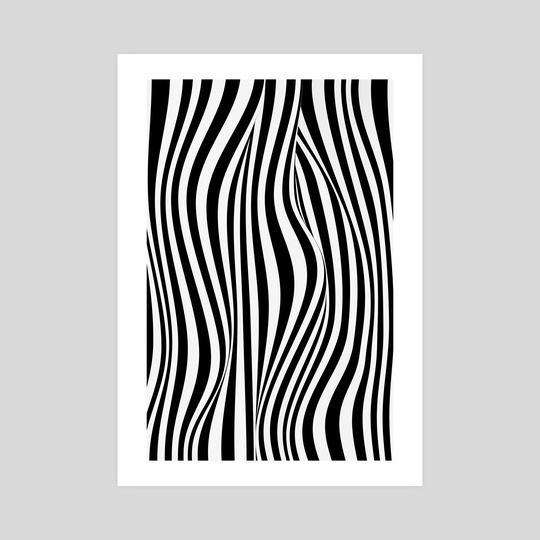 Zebra abstract 1 by Mihalis Athanasopoulos
