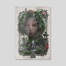 Fox Forest Spirit - Acrylic by Barrett Biggers