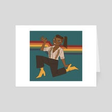 Funky Beau - Art Card by cozygnomes