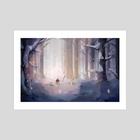 WANDER  - Merry Winter - Art Print by Mandy Jacek