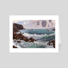 Fantasy Coast - Art Card by Alejandro García